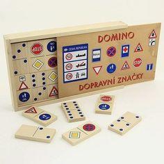 Stolové hry | Domino | Domino Dopravné značky | www.mileobchod.sk