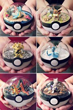 Pokemon Snow Globes Pokemon Craft, Pokemon Party, Pokemon Birthday, Pokemon Fan, Pokemon Diys, Pokemon Fusion, Pokemon Decor, Pokemon Room, Pokemon Stuff