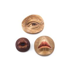 Features Brooches by Julia Harrison