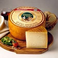 El Idiazabal, el queso de Navarra y el País Vasco.