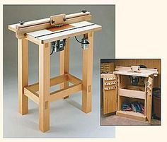 Free Router Table Plans