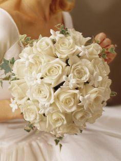 Cullens Ashton - Graceful Rose & Stephanotis Scented Bridal Bouquet - Interflora