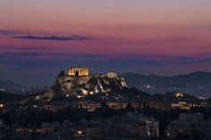 The Acropolis, Athens, sunset - Greece mainland Workshop - Ollie Taylor Photography