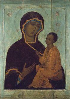 The Tikhvin[skaya] Icon of the Theotokos