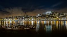 Portugal, Night Shot, Calm, Check, Saints, Port Wine