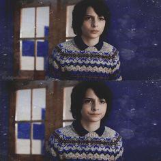 I love his sweater   Mike Wheeler in Stranger Things 2