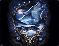 Liquid Blue Wolf T-shirt Tribal Wolf Tattoo, Wolf Tattoos, Tatoos, Wolf Photos, Wolf Pictures, Native American Pictures, Native American Art, American Indians, Wolf Pup