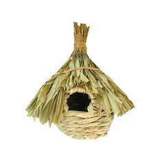 Birds Cages & Accessories--Bird Supplies Handmade Straw Nest Bird's Nest