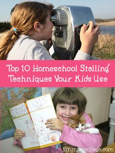Top Ten Homeschool Stalling Techniques Your Kids Use Jimmie Lanley http://jimmiescollage.com/2016/07/top-ten-homeschool-stalling-techniques/