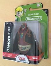 "NEW World of Nintendo (Series 1-2) Ganondorf 2.5"" Figure by Jakks Pacific HTF!"