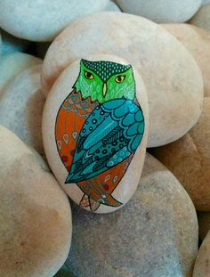 Painted Owl Stone