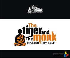The Tiger and The Monk, Personal Training and M... Traditional, Personable Logo Design by Kreative Fingers