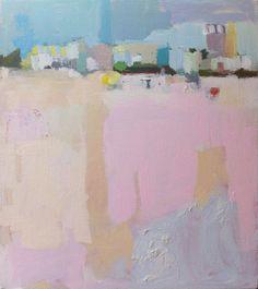 Summer Landscape Ocean City NJ by mizzpicklz on Etsy Summer Landscape, Abstract Landscape, Landscape Paintings, Abstract Art, Figure Painting, Diy Painting, Ocean City Nj, Impressionism, Art Projects