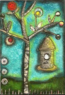 march bird journal challenge by nayski (Renee Stien), via Flickr
