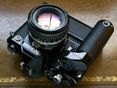 my Nikon FM with MD-12 Drive