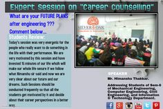 Career Counselling Session conducted by Mr. Himanshu Thakkar @SOCET . Students listened to him keenly and got motivated ... some of them asked interesting questions regarding the perspectives of further studies and going abroad. Overall it was very informative session for students.Hope they enjoyed.