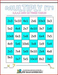 math worksheet : 1000 images about 3rd grade math worksheets on pinterest  third  : Multiplication Games Worksheets For Third Grade