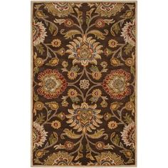 Artistic Weavers Artes Chocolate 6 ft. x 9 ft. Area Rug-Artes-69 - The Home Depot