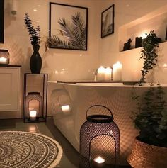 Idea by Adrianne Cooper on Texas Homes in 2020 Palm Tree Bathroom, Seaside Bathroom, Master Bathroom, Romantic Bathrooms, Pinterest Home, Texas Homes, Image House, Discount Furniture, Stores