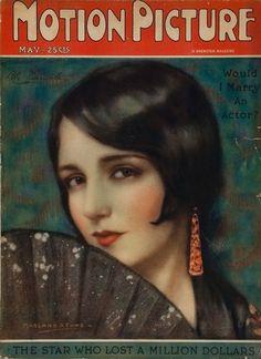 "Bebe Daniels ~ ""Motion Picture"" magazine..."