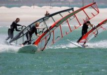 Cape Sports Center in Langebaan also offers Windsurfing. West Coast, South Africa