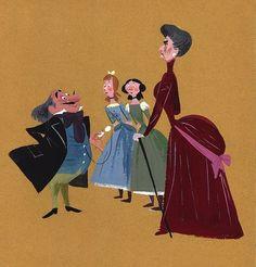 Lady Tremaine, Drizella and Anastasia - Cinderella