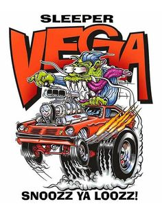 Built for Speed Rat Fink Metal Sign Chevrolet Vega, Rat Fink, Weird Cars, Cool Cars, Crazy Cars, Cartoon Car Drawing, Cartoon Art, Cars Cartoon, Caricature
