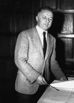 Leonard K. Olson was named Dean of the State University College on Long Island on February 14, 1957 (credit: University Archives, Stony Brook University).