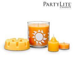 Kennen Sie schon den neuen PartyLite Sommerduft Pure Passion? Genießen Sie das Aroma von Mango, Rum, und einem Spritzer Limone - wie ein frischer Cocktail am Strand! #purepassion