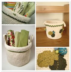 Orange Flower and Chickpea Sewing Studio have teamed up to create this adorable free crocheted basket pattern.