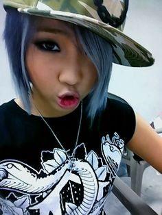 #2NE1 #Minzy I think she looks really good in this picture! like REALLY good!