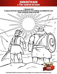 what was the relationship between jonathan and his armor bearer