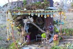 fairy garden inspiration <3 and now a stepping stone for a certain little girls cubby house!!