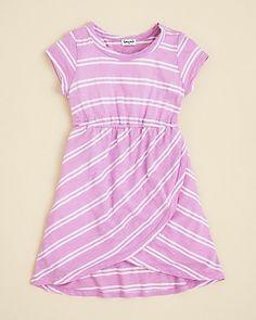 Splendid Littles Girls Double French Stripe Dress - Sizes 4-6X | Bloomingdales