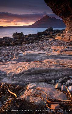 Elgol at sunset, Isle of Skye - Elgol at sunset, Isle of Skye, Scotland