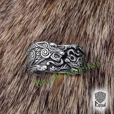 Odins Wölfe Ring. Fenrir Ring. Wolf-Ring. Wölfe. Viking Wolf