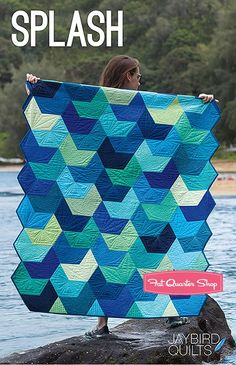 Splash Quilt PatternJaybird Quilts #JBQ-153 - Quilt Patterns | Fat Quarter Shop