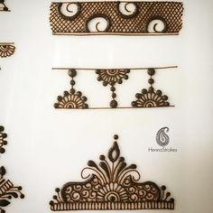 Simple designs for beginners Simple Arabic Mehndi Designs, Henna Art Designs, Mehndi Designs For Beginners, Modern Mehndi Designs, Mehndi Designs For Fingers, Wedding Mehndi Designs, Beautiful Henna Designs, Simple Designs, Mehandi Designs