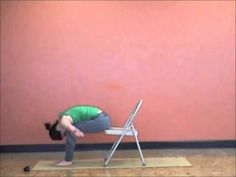40 Days of Lent Yoga Challenge with Hope Zvara Day Yoga with a Chair Yoga Moves, Yoga Workouts, Stretching Exercises, My Yoga, Yoga Flow, Fitness Workout For Women, Yoga Fitness, Fibromyalgia Yoga, Best Yoga Videos