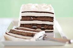 Oreo & fudge ice cream cake recipe... there goes my diet
