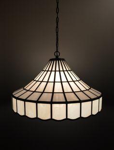 白いガラスのランプシェード | iichi(いいち)| ハンドメイド・クラフト・手仕事品の販売・購入