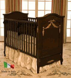 Her Crib Baby Cache Essentials Sleigh Crib White Baby Cache