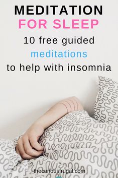 Meditation for sleep – 10 free guided meditations It's easy to be sleep deprived when you have kids. Try one of these free guided meditations for sleep the next time 'momsomnia' hits. Guided Meditation For Sleep, Daily Meditation, Chakra Meditation, Meditation Practices, Meditation Music, Mindfulness Meditation, Meditation Benefits, Meditation Quotes, Meditation Space