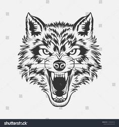 Wolf Vectors, Photos and PSD files Wolf Tattoos, Wolf Face Tattoo, Tribal Wolf Tattoo, Head Tattoos, Sleeve Tattoos, Werewolf Tattoo, Celtic Tattoos, Animal Tattoos, Wolf Illustration