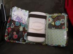 Fold N go Organizer as a diaper and wipe case to drop in your purse...genius! http://www.mythirtyone.com/gabbyo