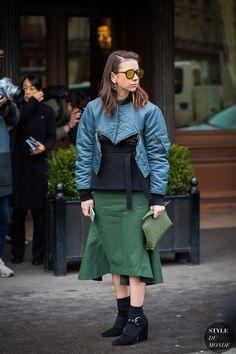 Paris Fashion Week FW 2016 Street Style: Natasha Goldenberg