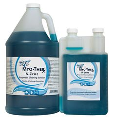 Myo-Ther N-Zyme Cleaner.