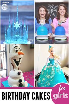 Amazing Frozen birthday cakes for girls!