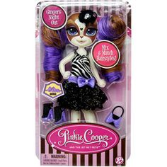 Pinkie Cooper and the Jet Set Pets Fashions Black Dress (Doll sold seperately)