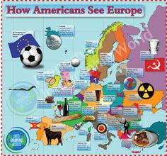 How Europeans Think Americans View Europe.